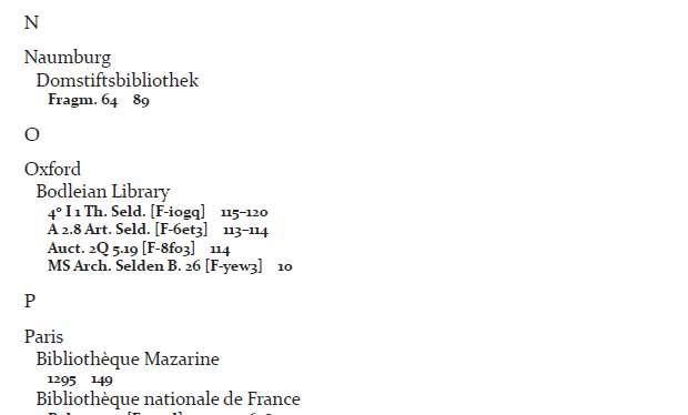 Fragmentology #1 Adds Index Manuscriptorum